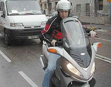 Madrid fomenta el uso de la moto