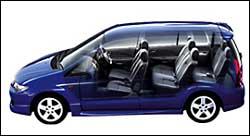 Mazda Premacy para siete