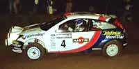 Makkinen, vencedor del Rally de Montecarlo