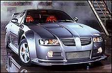 MG Rover desvela el XPower SV, un deportivo extremo