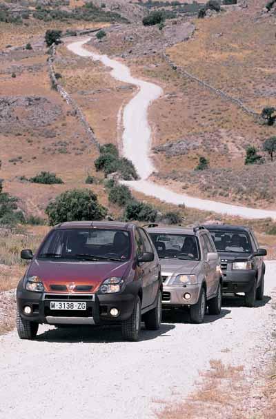 CR-V 2.0i / Land Rover Freelander 1.8i / Renault Scénic RX4 2.0 16V ...
