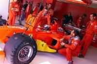 Ferrari domina los entrenamientos en Montmeló