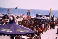 Movistar patrocina el motor en las playas