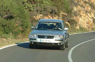 volkswagen passat 1 9 tdi 130 cv pruebas de coches. Black Bedroom Furniture Sets. Home Design Ideas