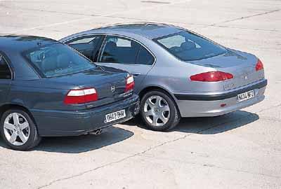 Opel Omega 3.2 V6 / Peugeot 607 3.0 V6 Pack