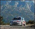 Triplete de Peugeot en Córcega