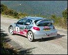 Panizzi, intratable durante la primera etapa del Rally de Córcega
