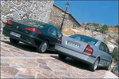 Peugeot 607 2.2 HDi / Volvo S80 D5