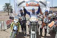 Schlesser se venga de Kleinschmidt en Marruecos