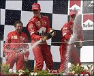 Ferrari puede conseguir su quincuagésimo podio consecutivo