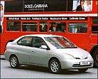 Toyota hace debutar un Prius híbrido en un rally