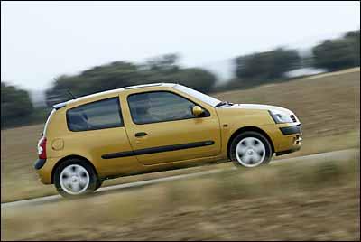 Renault Clio 1.2 16V 3p Dynamique quickshift