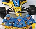 Se presenta el equipo Renault con Fernando Alonso