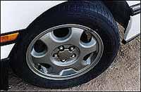 Los italianos no inflan las ruedas