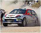 Sainz finaliza tercero en el Rally Acrópolis