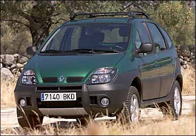 Prueba: Renault Scénic RX4 dCi
