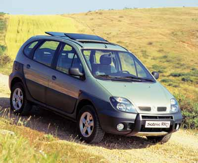 1999 renault scenic rx4 1 9 dci related infomation specifications weili automotive network. Black Bedroom Furniture Sets. Home Design Ideas