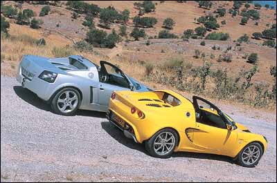 Lotus Elise 111S / Opel Speedster