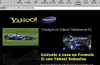 Yahoo! subasta un Fórmula 1
