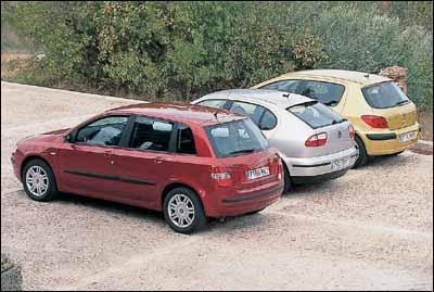Fiat Stilo JTD Dynamic / Peugeot 307 HDi XS / Seat León 1.9 TDI 110 Sport