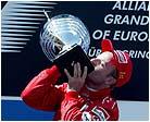 Barrichello gana en casa de Schumacher
