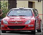 Puras, vencedor en el Rally de Córcega