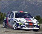 Sainz abandona el Rally de Córcega