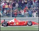 """Michael Schumacher consigue la """"pole position"""" en Indianápolis"""