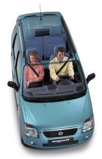 Suzuki Wagon R+: grande, en las distancias cortas