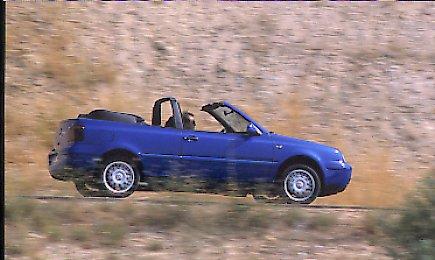 Volkswagen Golf Cabrio TDI